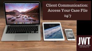 JWTLaw Online Client Portal